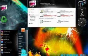 NOVA Win7 Sico  themes for Windows Seven