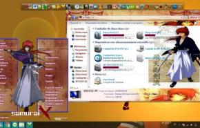 Темы для Windows 7: tema de samurai x para window 7