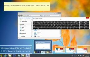 Тема на Windows 7: Windows 8 Pre-RTM Metro VS For Windows 7