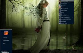 Тема на Windows 7: Win7 Wishful Dream By Se7enSinner Modified
