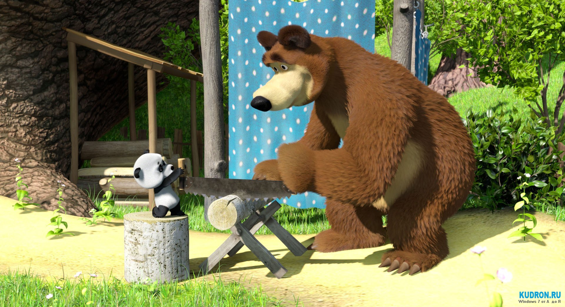 Маша и медведь в цирке в кз крокус сити
