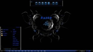 Темы для Windows 7: Razer by TheBull