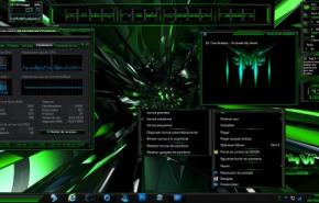 Темы для Windows 7: ESCL Energy G_Green by... LAHERCOLL