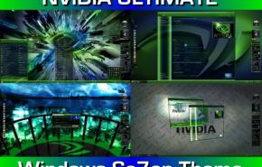 Темы для Windows 7: NVIDIA ULTIMATE