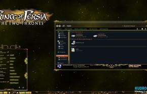 Тема на Windows 7: Prince of persia T2T vs