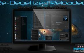 Тема на Windows 7: Degetized Reloaded