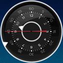 Интересные аналоговые часы гаджет для  Windows 7