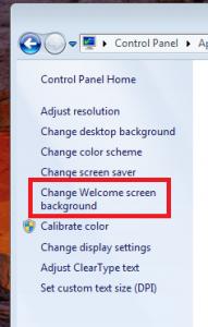 Меняем экран приветствия (не путать с экраном загрузки)
