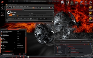 Тема оформления RedAnnihilator for windows seven
