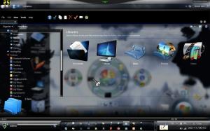 Тема оформления Animated ExplorerFrame for windows seven