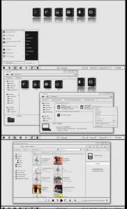 Тема оформления Simple Black and White