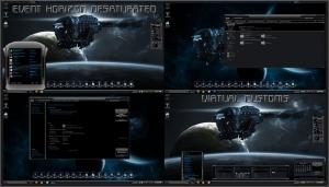 Тема оформления Event Horizon Desaturated