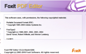 Программадля редактирования pdf  в  Windows 7  Foxit PDF Editor