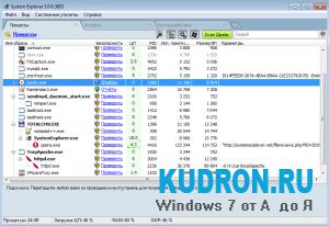 System Explorer3.0.6 + Portable для Windows 7