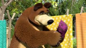 Маша и Медведь Большая стирка 18 серия