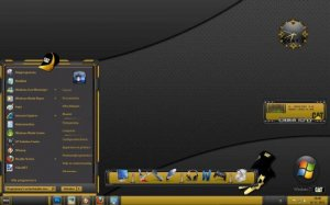 Темы для Windows 7: Caterpillar theme
