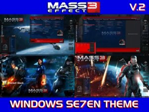 Темы для Windows 7: MASS EFFECT 3 Special Edition