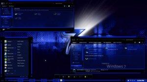 Темы для Windows 7: Dia BLue