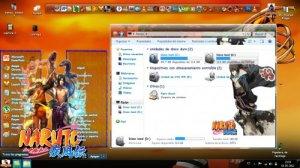Темы для Windows 7: Estilos Visuales 7 de naruto