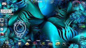 Темы для Windows 7: Aqua light