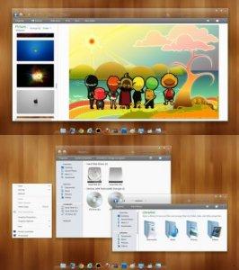 Тема для Windows 7: Dockbar 7