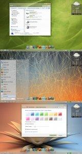 Тема для Windows 7: stylysh lite v. 2