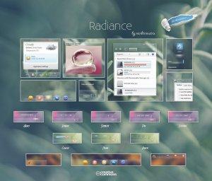 Тема для Windows 7: Radiance