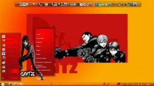 Тема для Windows 7: tema de gantz w7