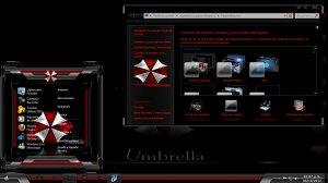 Тема на Windows 7: Umbrella Custons W7 By TheMasterDesing