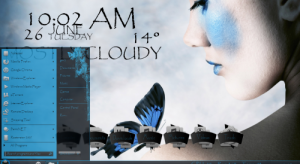 Тема на Windows 7: Sweet Harmony-Blue