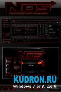 Тема на Windows 7: NOS NITROUS OXIDE