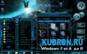 Тема на Windows 7: Aqua Glass