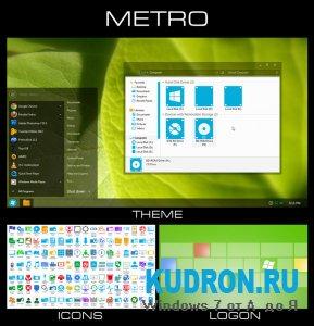 Тема на Windows 7: Metro