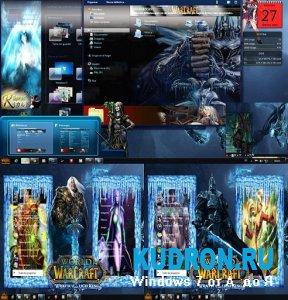 Тема на Windows 7: Word of Warcraf